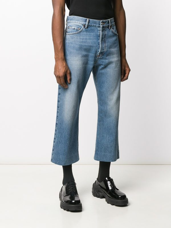 BALENCIAGA - Cropped denim jeans