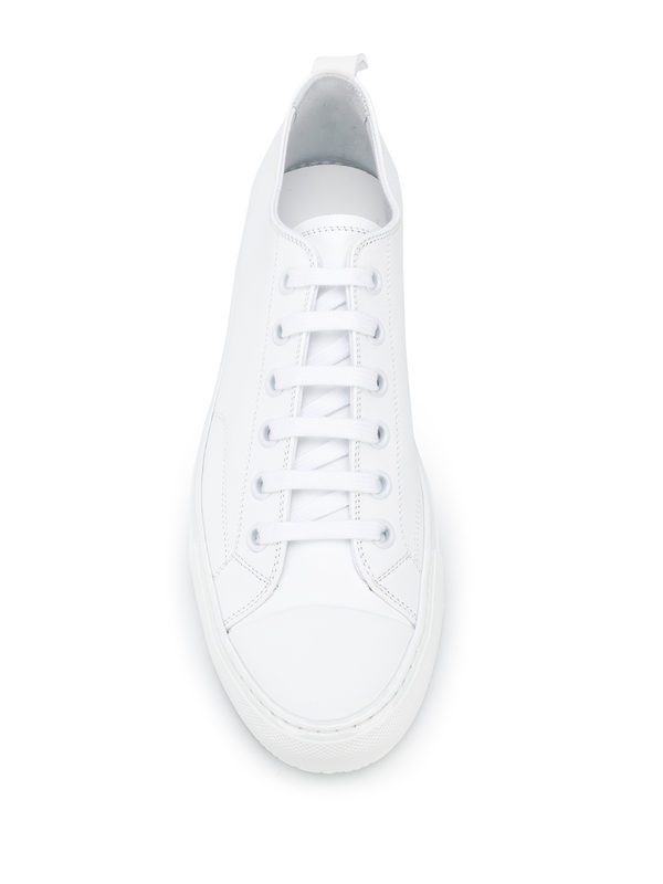 COMMON PROJECTS - Tournament leather sneakers