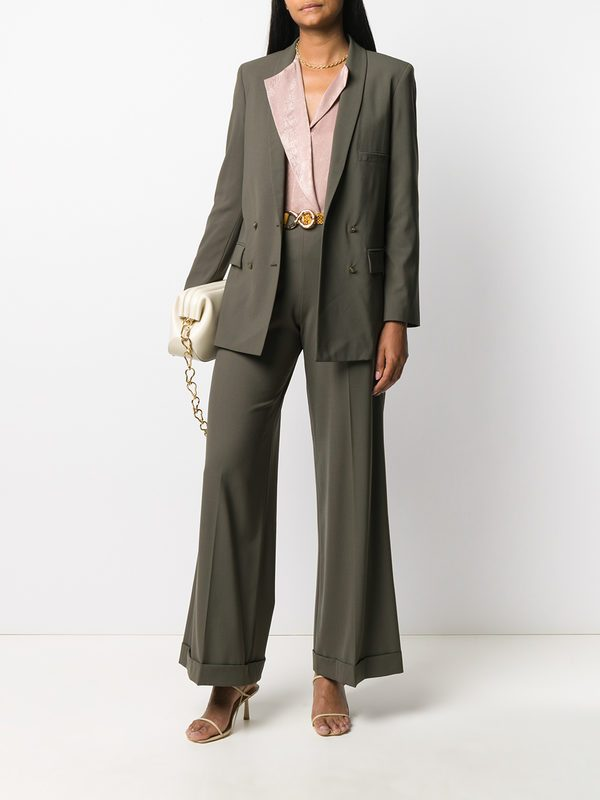 ALYSI - Virgin wool trousers