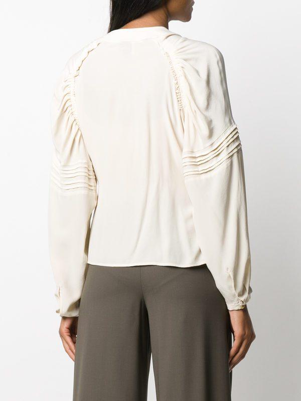 ALYSI - Silk blouse