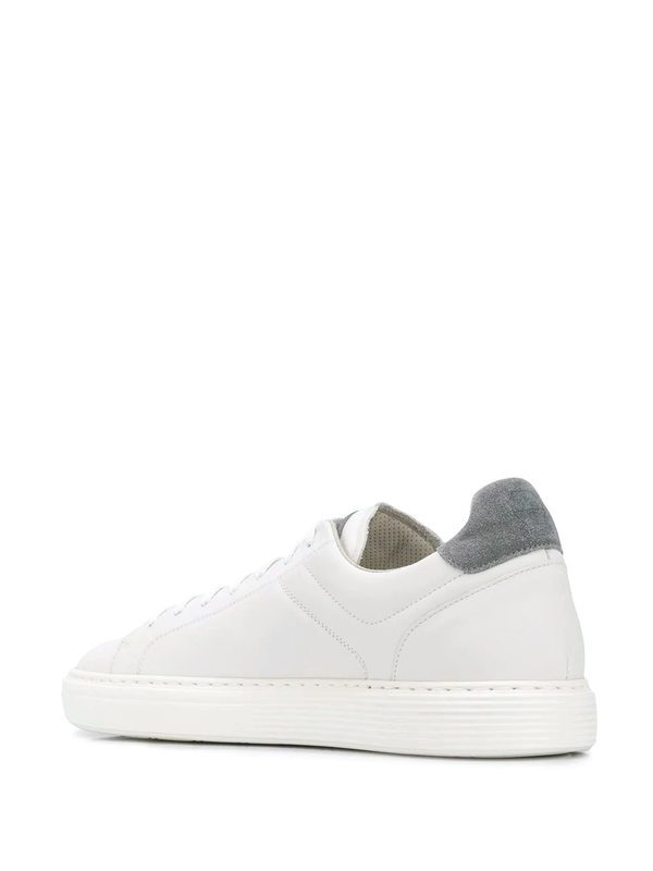 BRUNELLO CUCINELLI - Leather sneakers