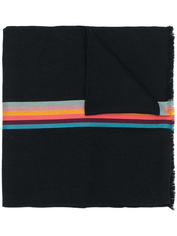 PAUL SMITH - Virgin wool and silk scarf