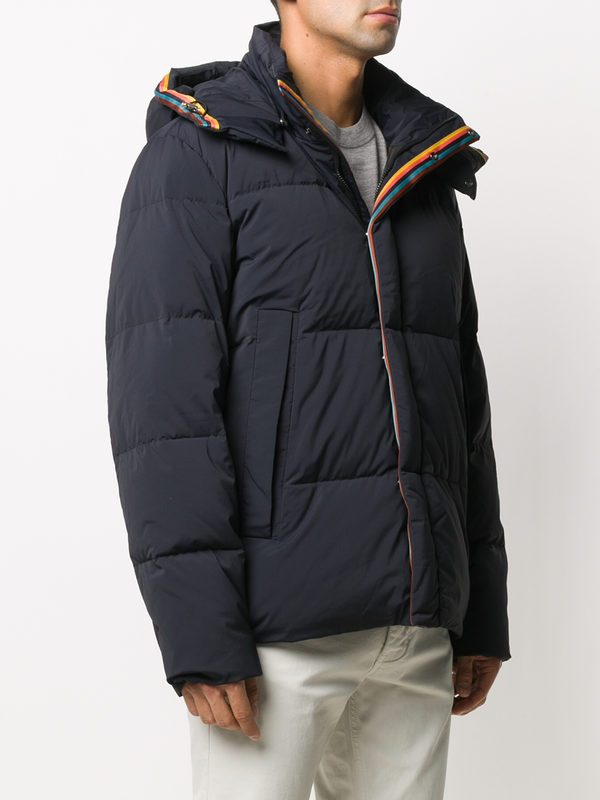 PAUL SMITH - Nylon padded jacket